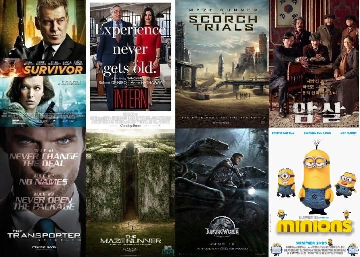 You won't get bored at GV Cine8thlete!