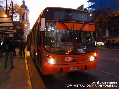 Transantiago - Express de Santiago Uno - Marcopolo Gran Viale / Volvo (CJRH58)