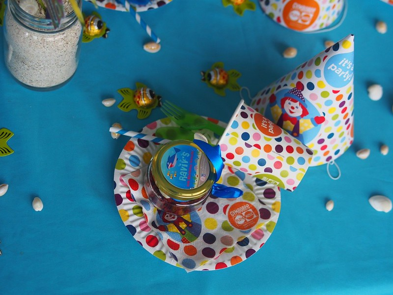 Matching Gymboree party cutlery