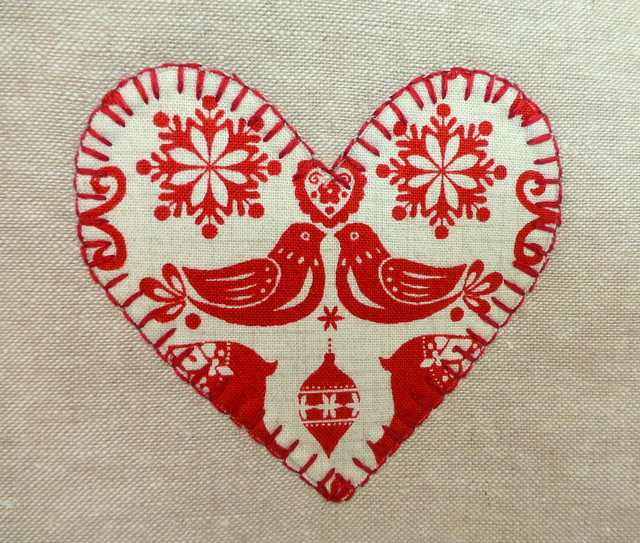 Scandi applique