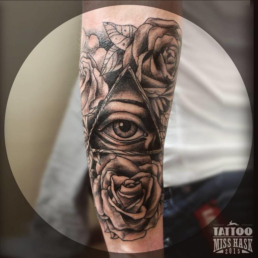Keziaeloise El Ojo Que Todo Lo Ve Illuminati Tattoo