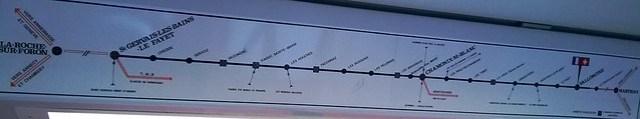 train map st gervais les bains to chamonix mont blanc