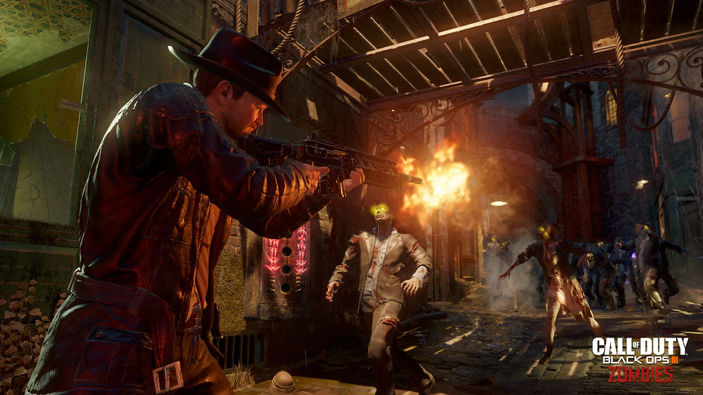 Call of Duty: Black Ops 3 - 'Shadows of Evil' Zombies Reveal Trailer 4
