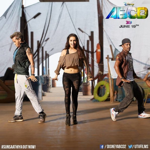 All eyes are on Shraddha Kapoor when she moves her body. Credit: Disney