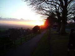 Shaftesbury sunset