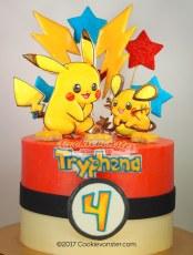 Pokemon - Pikachu cake