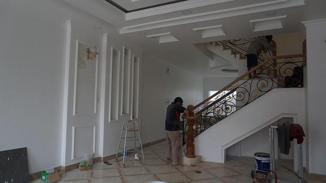 PHÒNG KHÁCH NHÀ L8.6 KDC CITYLAND CENTER HILLS QUẬN GÒ VẤP