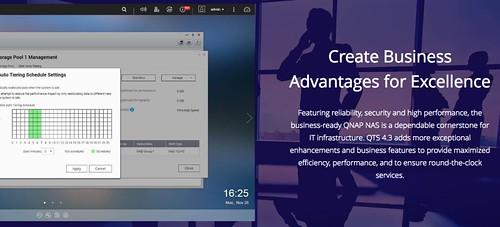 QNAP QTS 4.3 Business Benefit