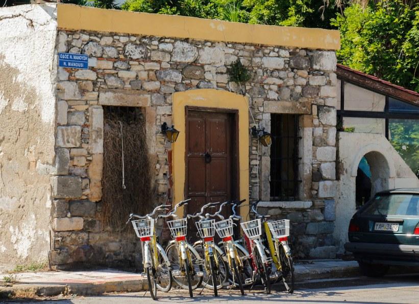 gadebillede på den græske ø Kos
