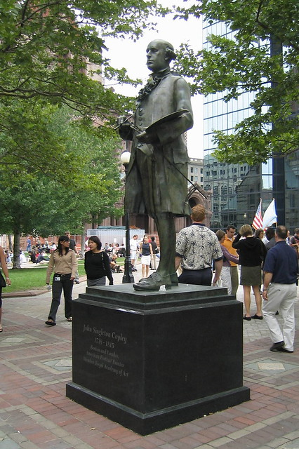 Boston  Back Bay Copley Square  John Singleton Copley