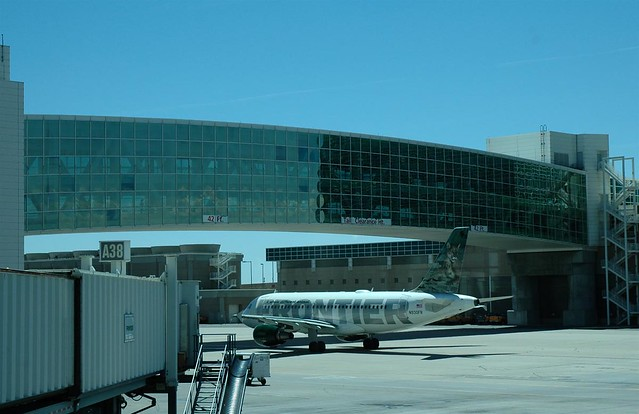Skybridge At Denver International Airport A Photo On