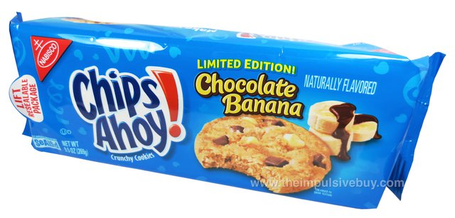 Limited Edition Chocolate Banana Chips Ahoy Cookies