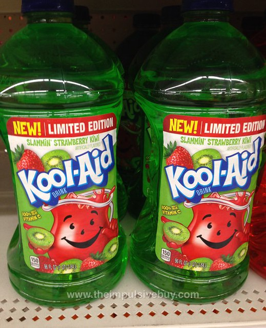 Limited Edition Slammin' Strawberry Kiwi Kool-Aid