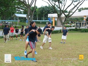 05062003 - FOC.Trial.Camp.0304.Dae.1 - Doin.Forfeit.At.Admin.Field.. Pic 1