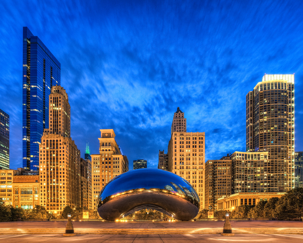 The Bean  Chicago IL  Cloud Gate also known as The