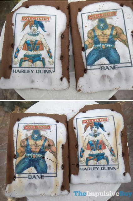 Exclusive Villains Edition Frosted Chocolate Sugar Cookie Printed Fun Pop-Tarts 6