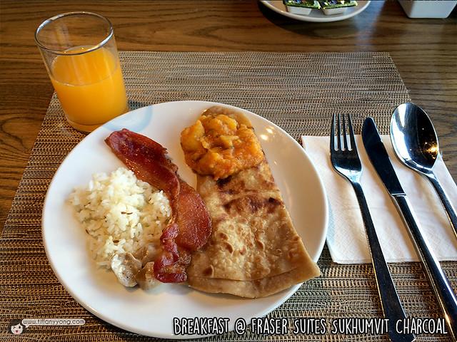 Fraser Suites Sukhumvit_Breakfast Meal