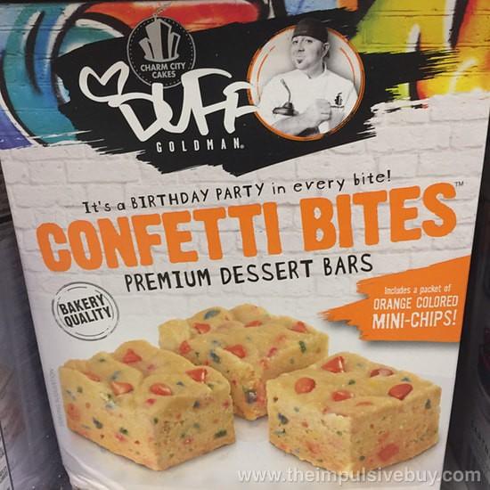 Charm City Cakes Duff Goldman Confetti Bites Dessert Bars