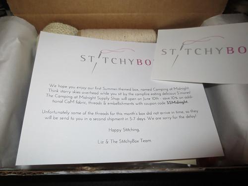 #StitchyBox