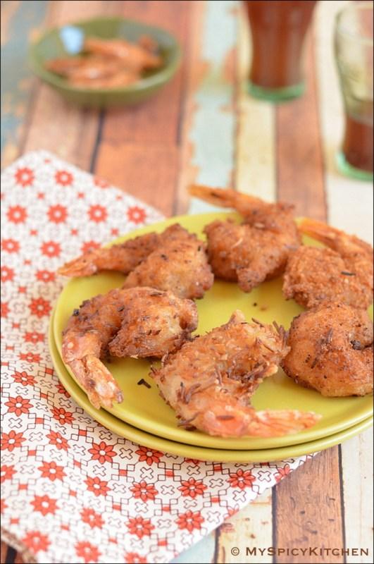 Aruba Cuisine, Aruba Food, Fried Shrimp, Food of the World,