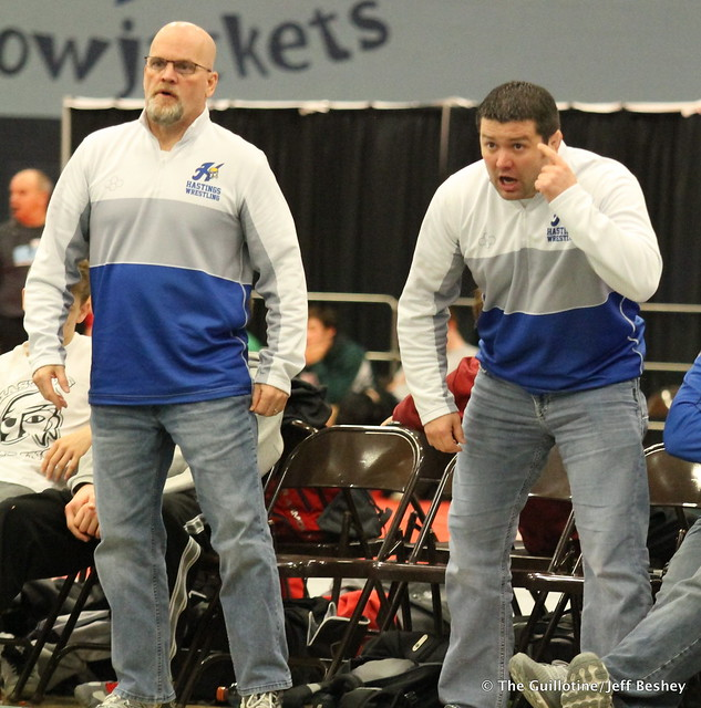 Hastings Coaches Paul Vaith and Josh McLay