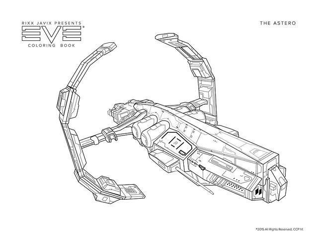 EVEOGANDA: Eve Coloring Book: The Astero