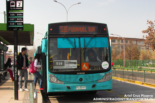 Transantiago - Metbus - Caio Mondego H / Mercedes Benz (FLXD25)