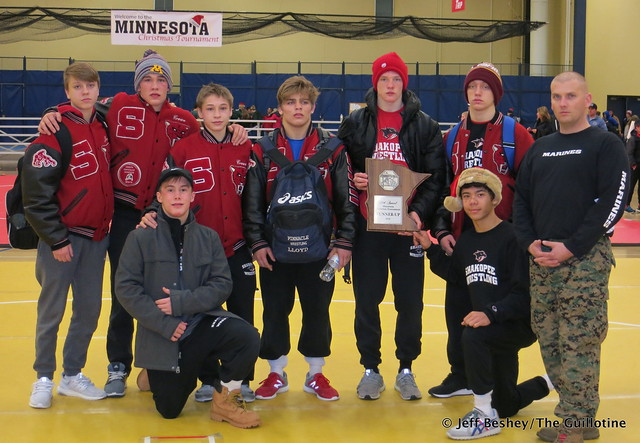 2016 Minnesota Christmas Tournament Runners-Up - Shakopee