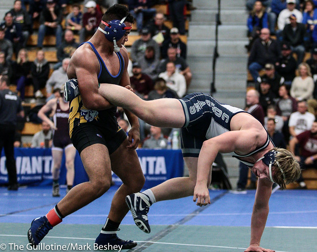 220 - Jackson Schichel (Hastings) over Jacob Bennett (Zumbrota-Mazeppa) SV-1 3-1