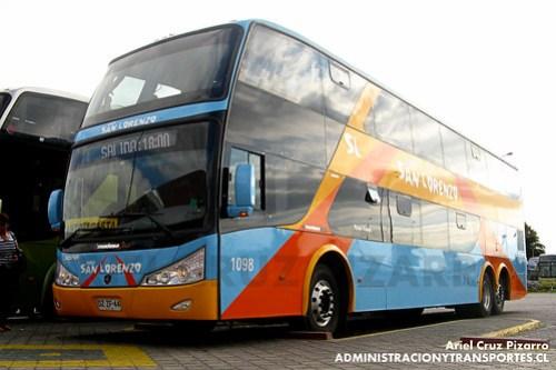 Buses San Lorenzo (Romani) - La Serena - Modasa Zeus / Scania (DZZF44)