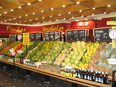 El rey supermarket, David City Rey grocery store produce section