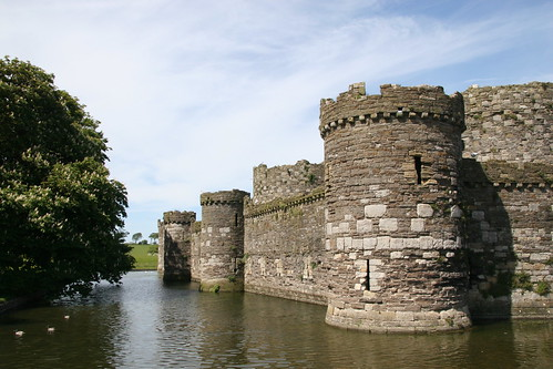 Beaumaris Castle by webmink