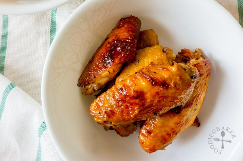Honey Mustard Wings Recipe Food Network