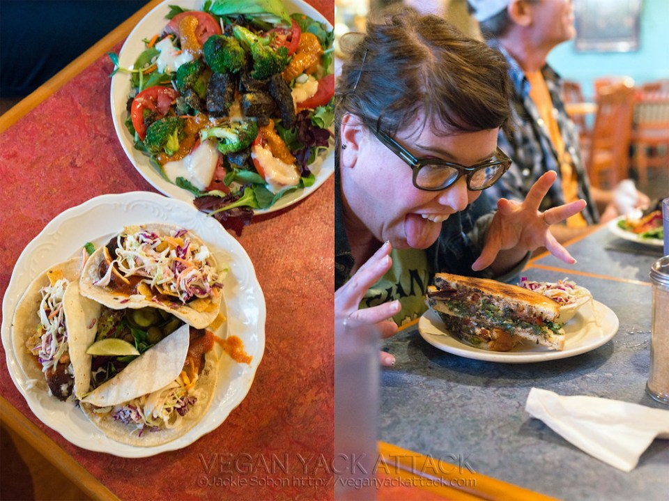 Bouldin Creek Cafe - Austin TX - Tacos and Sandwich