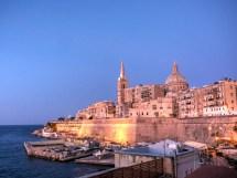 Valletta Malta by Night