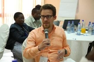Brian Martalus, USAID Feed the Future Coordinator - Zambia (Photo credit: IITA/Jonathan Odhong')