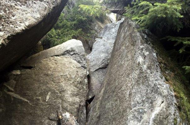 Mahoosuc Notch Boulders 1