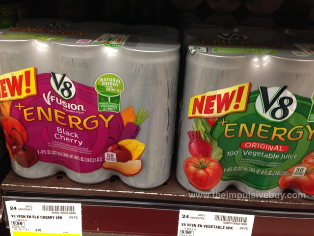 V8 Fusion + Energy (Black Cherry and Original)