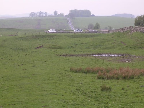 Looking towards the site of Milecastle 31 and Carrawburgh fort