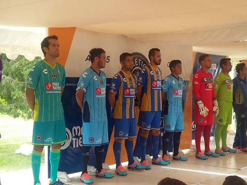 Atlético San Luis Presento los nuevos uniformes de cara al Apertura 2016