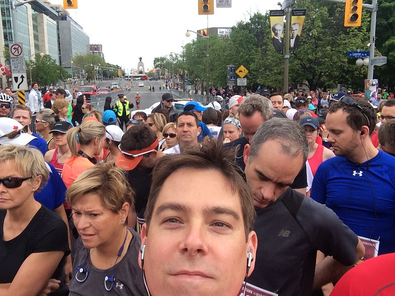 Ottawa Race Weekend half marathon