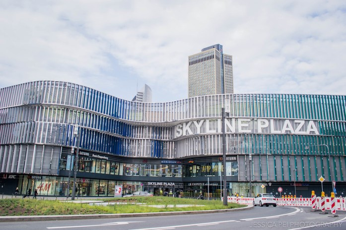 Skyline Plaza Frankfurt Germany