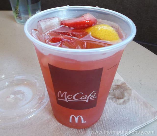 McDonald's McCafe? Strawberry Lemonade