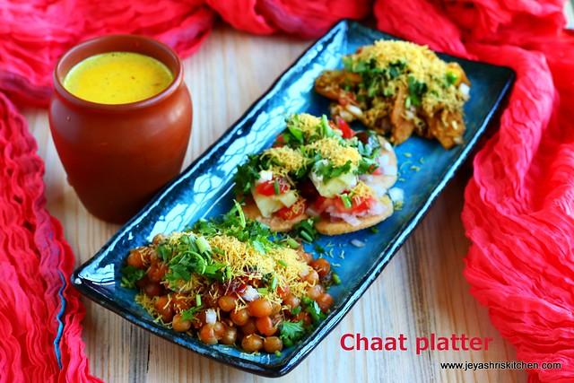 chaat- platter