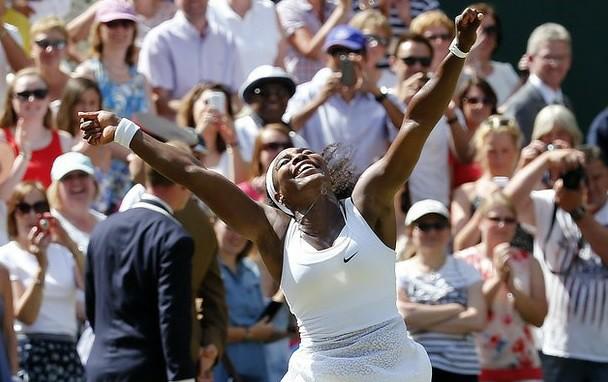 """Williams completa su segundo """"Serena Slam"""" con tÍtulo en Wimbledon"""