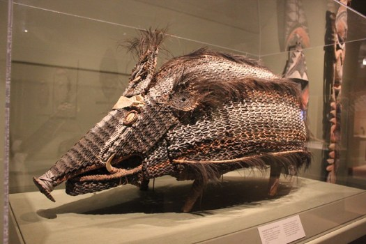 'Basketry Figure of Wild Pig' at San Antonio Museum of Art