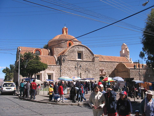 Temple San Berdardo, Potosi, Bolivie