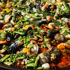 #Corallina paella #party @cornerstonenapa