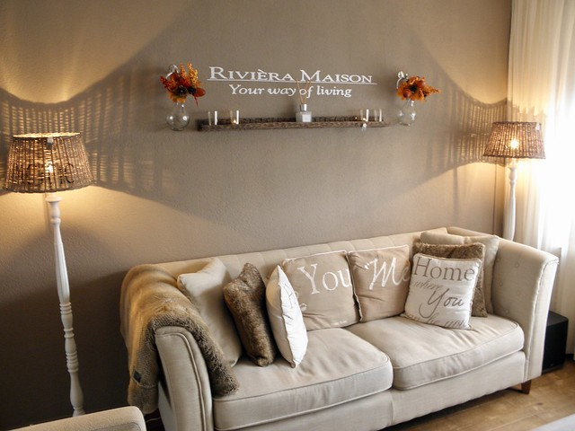 Riviera Maison woonkamer