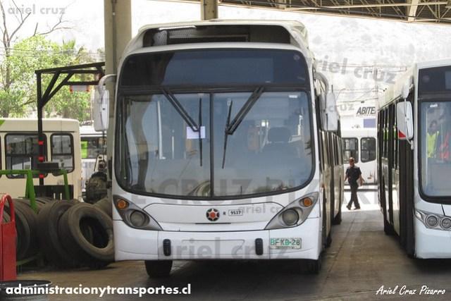 Transantiago - Subus Chile - Marcopolo Gran Viale / Volvo (BFKB28) (9537)